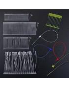 Plastic tag pins