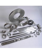 Collier de serrage Inox - Colliers métalliques