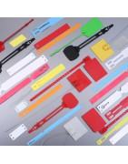 Articles d'identification et d'emballage, porte etiquette - Jimex