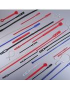 Attache reutilisable, collier de serrage, lien, rilsan - Jimex