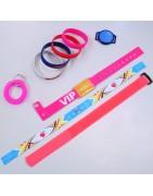 Reusable wristbands
