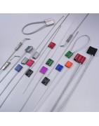 Scellé - Scellés de sécurité - Corps métallique - Scellés câbles
